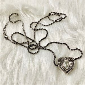 Free Heart Sterling Silver Necklace